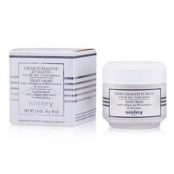 Sisley Botanical Night Cream With Collagen & Woodmallow --50ml/1.6oz
