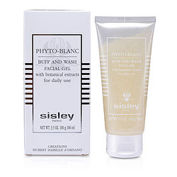 Sisley Phyto- Blanc Buff & Wash Facial Gel (Tube)--100ml/3.3oz