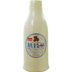 Milk and Strawberry Bath Mousse--500ml/16.9 oz