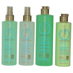 SET-THERAPY- G 4-STEP SYSTEM KIT FOR CHEMICALLY TREATED HAIR-WITH ANTIOXIDANT SHAMPOO 12 OZ & FOLLICLE STIMULATOR 8.5 OZ
