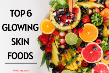 Top 6 glowing skin foods