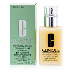 Dramatically Different Moisturising Gel - Combination Oily to Oily ( With Pump )--125ml/4.2oz