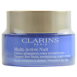 Multi-Active Night Targets Fine Lines Revitalizing Night Cream ( Normal to Dry Skin ) --50ml/1.6oz