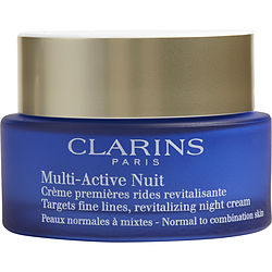 Multi-Active Night Targets Fine Lines Revitalizing Night Cream ( Normal to Combination Skin ) --50ml/1.6oz