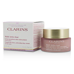 Multi-Active Day Targets Fine Lines Antioxidant Day Cream - For All Skin Types --50ml/1.6oz