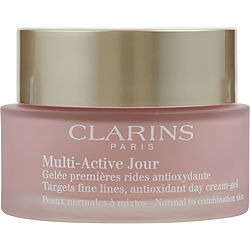 Multi-Active Jour Target Fine Lines Antioxidant Day Cream - Gel ( Normal to Combination Skin ) --50ml/1.7oz