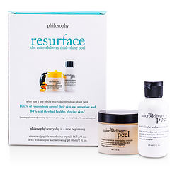 Microdelivery Peel Kit: Lactic/Salicylic Acid Activating Gel 2oz & Vitamin C/Peptide Resurfacing Crystals 2oz--2pcs