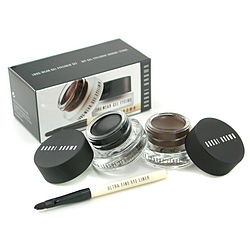 Long Wear Gel Eyeliner Duo: 2x Gel Eyeliner 3g ( #Black Ink
