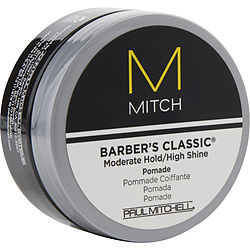 MITCH BARBER'S CLASSIC MODERATE HOLD/HIGH SHINE POMADE 3 OZ