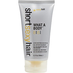 SHORT SEXY HAIR WHAT A BODY ULTRA BODIFYING BLOW DRY GEL 5.1 OZ