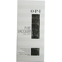 Pure Lacquer Nail Apps--Metallic Waves--16 pre-cut strips
