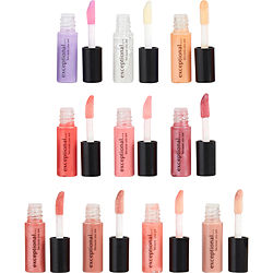 10 PIECE MINI LIP GLOSS SET EACH .04 OZ/1.2 mL