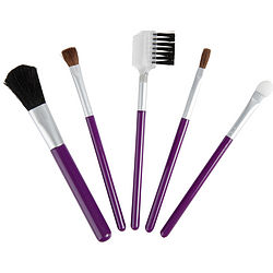 SET-5 PIECE TRAVEL MAKEUP BRUSH SET
