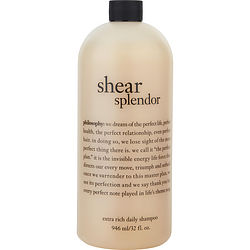 Shear Splendor Extra Rich Daily Shampoo--32oz
