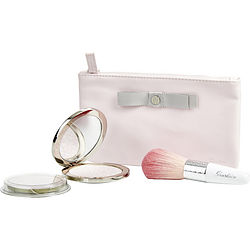 Meteorites Voyage (Exceptional Compacted Pearls Of Powder Refillable # 01 Mythic & Refill & Brush & Pouch)--4pcs