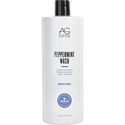 PEPPERMINT WASH INVIGORATING SHAMPOO 33.8 OZ