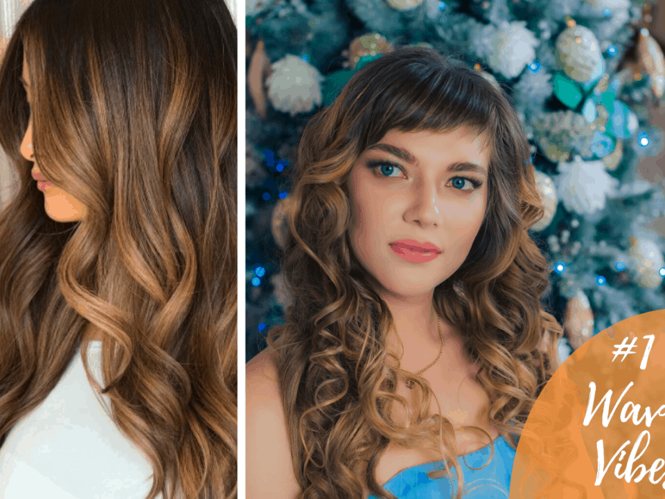 Wavy hair for party hairstyles